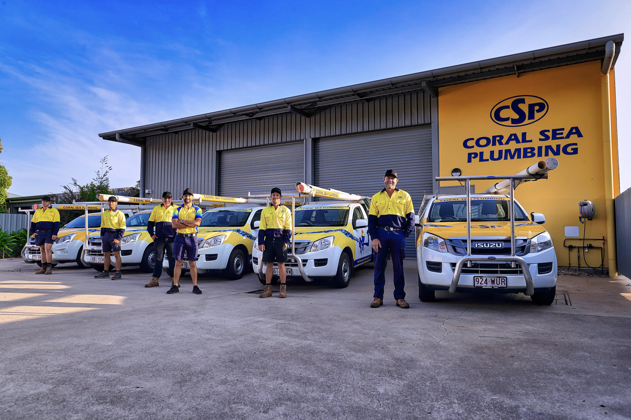 Coral Sea Plumbing Meet the Team