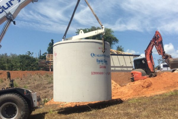 Replacement of existing treatment plant